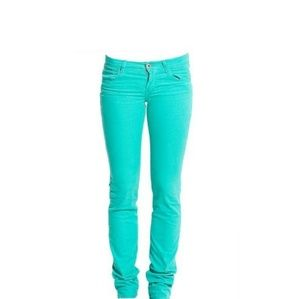 BNWT Replay Premium Jeans, mint green, size 28/33